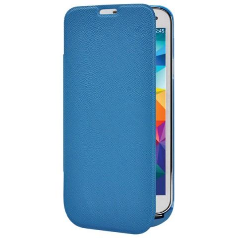 Фотография товара чехол-аккумулятор InterStep для Galaxy S5 Blue (IS-AK-PCS5FLPBL-000B201) (50047974)