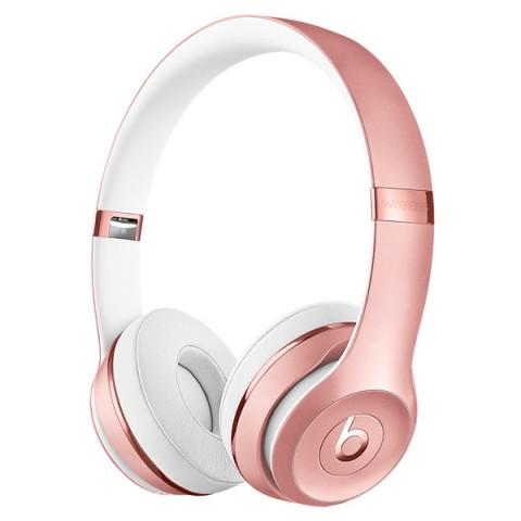 Фотография товара наушники Bluetooth Beats Beats Solo3 Wireless On-Ear Rose Gold (MNET2ZE/A) (50048011)