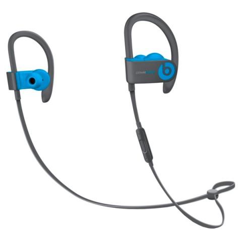 Фотография товара спортивные наушники Bluetooth Beats Powerbeats3 Wireless Flash Blue (MNLX2ZE/A) (50048012)