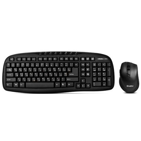 Фотография товара комплект клавиатура+мышь Sven KB-C3600W (50048121)