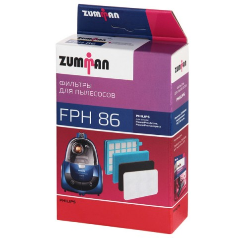 Фотография товара фильтр для пылесоса Zumman FPH86 (50048153)