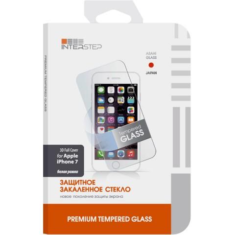 Фотография товара защитное стекло для iPhone InterStep для iPhone 7,3D, белое (IS-TG-IPHO73DWH-000B201) (50048277)