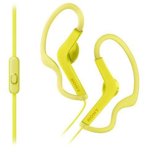 Фотография товара спортивные наушники Sony MDR-AS210AP Yellow (50048363)