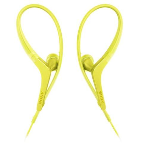 Фотография товара спортивные наушники Sony MDR-AS410AP Yellow (50048367)