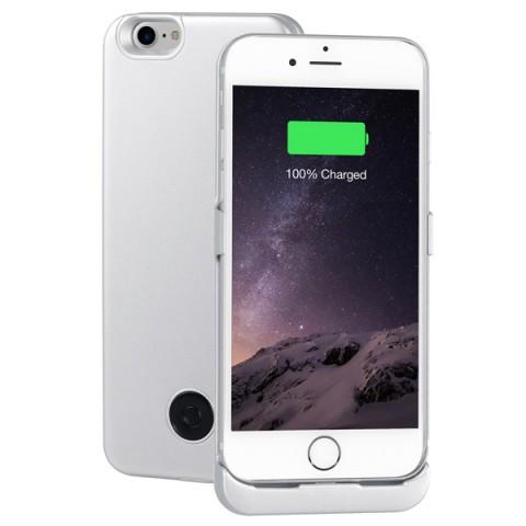 Фотография товара чехол-аккумулятор InterStep для iPhone 7 Silver (IS-AK-PCIP73ASL-000B210) (50048590)