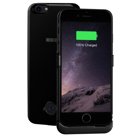 Фотография товара чехол-аккумулятор InterStep для iPhone 7 Jet Black (IS-AK-PCIP73AJB-000B210) (50048593)