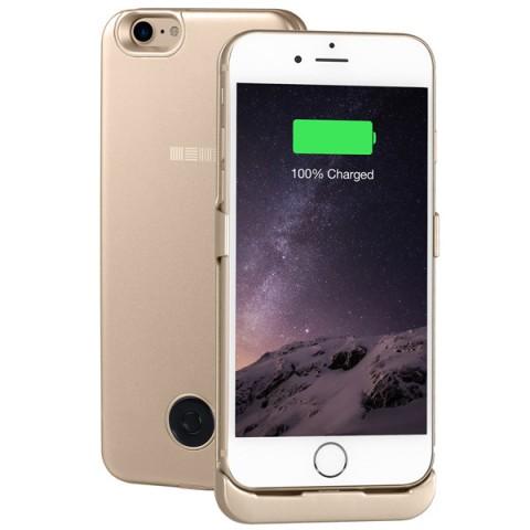 Фотография товара чехол-аккумулятор InterStep для iPhone 7 Gold (IS-AK-PCIP73AGD-000B210) (50048594)