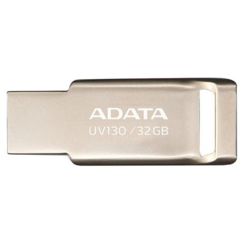 Фотография товара флеш-диск ADATA UV130 32GB Gold (AUV130-32G-RGD) (50048910D)