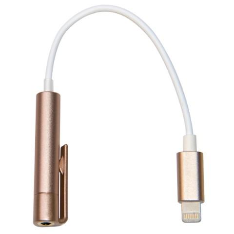 Фотография товара переходник для iPod, iPhone, iPad Harper IPC-808 Gold (50049272)