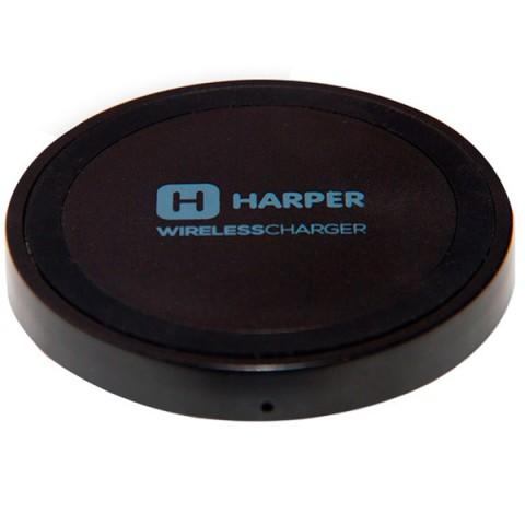 Фотография товара беспроводное зарядное устройство Harper QCH-2070 Black (50049274)