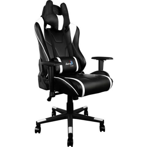 Фотография товара кресло компьютерное игровое Aerocool AC220-BW (50049429D)