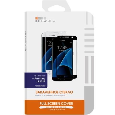 Фотография товара защитное стекло InterStep Full Screen Cover для Samsung J5 (2017) Black (50049451)