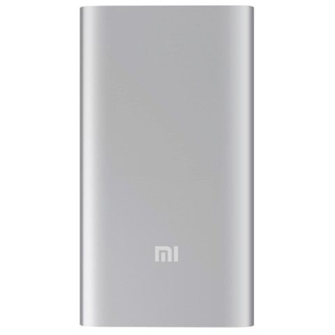 Фотография товара внешний аккумулятор Xiaomi Mi Power Bank (5000 мАч) серебристый (50049518)