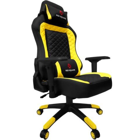Фотография товара кресло компьютерное игровое Red Square LUX Yellow (RSQ-50017) (50049525)