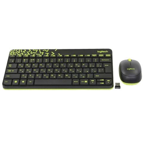 Фотография товара комплект клавиатура+мышь Logitech MK240 Nano Black (50049597)