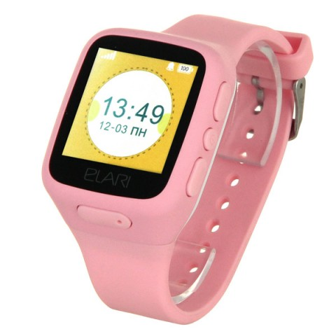 Фотография товара часы с GPS трекером Elari KidPhone Pink (KP-1) (50049977)