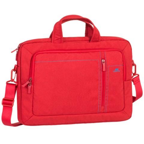"""Фотография товара кейс для ноутбука до 15"""" RIVACASE 7530 Red 15,6"""" (50050178)"""