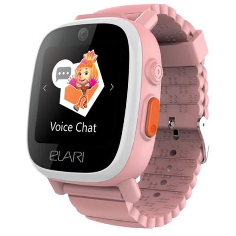 Фотография товара часы с GPS трекером Elari FixiTime3 Pink (FT-301) (50050235)