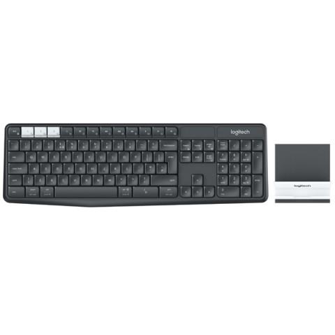 Фотография товара клавиатура беспроводная Logitech K375s (920-008184) (50050784)
