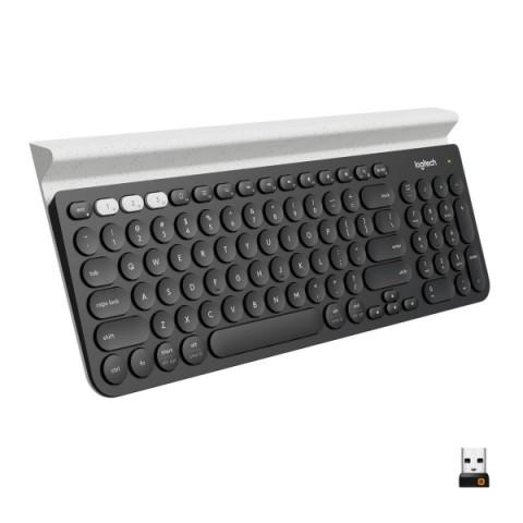 Фотография товара клавиатура беспроводная Logitech K780 (920-008043) (50050785)