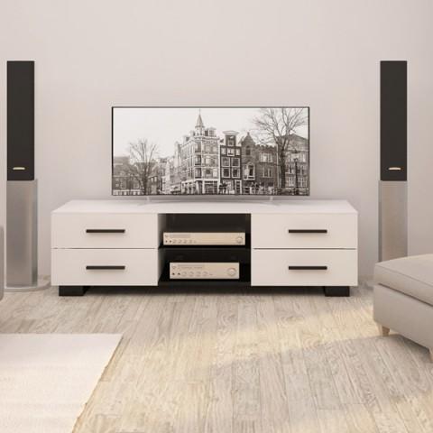 Фотография товара подставка для телевизора Mart Командор White (50050792)