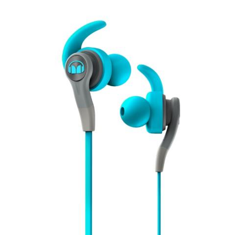 Фотография товара спортивные наушники Monster iSport Compete Blue (137083-00) (50050806)