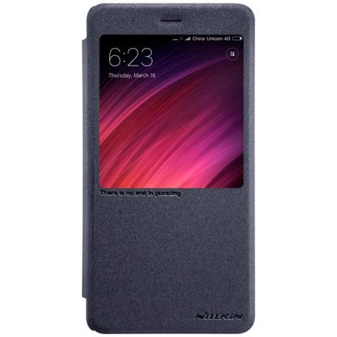 Купить чехол для сотового телефона Nillkin Sparkle Leather Case для Xiaomi Redmi Note 4X (50050866) в Москве, в Спб и в России