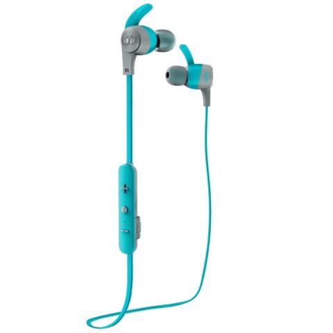 Купить спортивные наушники Bluetooth Monster iSport Achieve Blue (137090-00) (50050903) в Москве, в Спб и в России