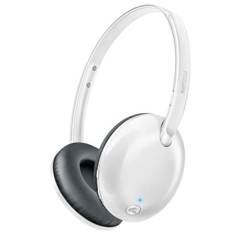 Купить наушники Bluetooth Philips Flite Ultrlite White (SHB4405WT/00) (50050916) в Москве, в Спб и в России