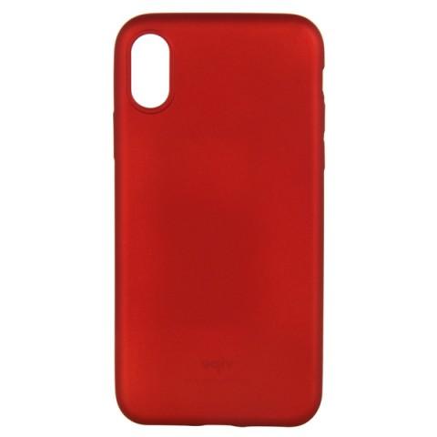 Купить чехол для iPhone Vipe для iPhone X красный (VPIPXCOLRED) (50050950) в Москве, в Спб и в России
