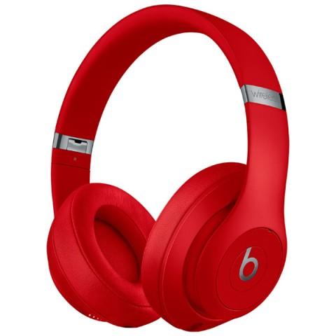 Купить наушники Bluetooth Beats Studio3 Wireless Red (MQD02ZE/A) (50050974) в Москве, в Спб и в России