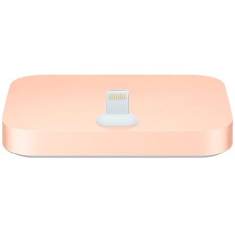 Фотография товара док-станция для телефона Apple iPhone Lightning Dock Gold (MQHX2ZM/A) (50051045)