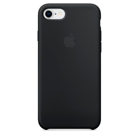 Купить чехол для iPhone Apple iPhone 8 / 7 Silicone Case Black (MQGK2ZM/A) (50051046) в Москве, в Спб и в России