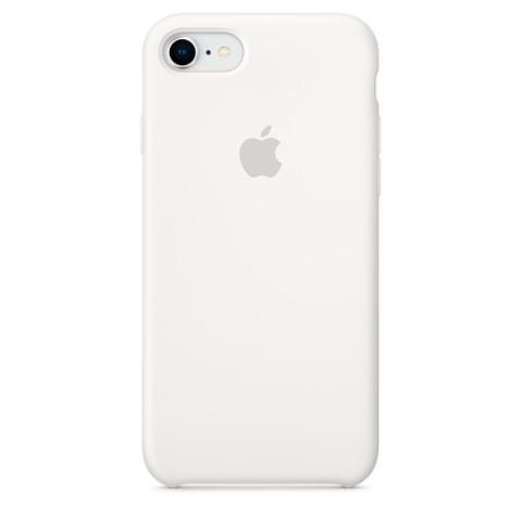 Купить чехол для iPhone Apple iPhone 8 / 7 Silicone Case White (MQGL2ZM/A) (50051047) в Москве, в Спб и в России