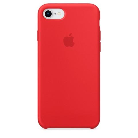 Купить чехол для iPhone Apple iPhone 8 / 7 Silicone (PRODUCT)RED (MQGP2ZM/A) (50051050) в Москве, в Спб и в России