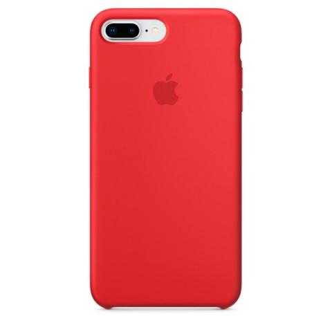 Купить чехол для iPhone Apple iPhone 8 Plus / 7 Plus Silicone (PRODUCT)RED (50051058) в Москве, в Спб и в России