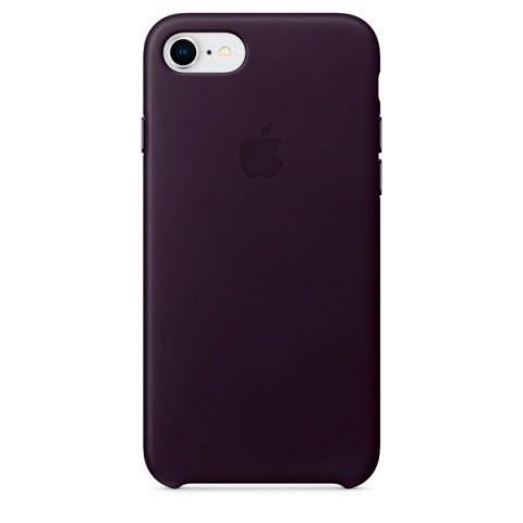 Фотография товара чехол для iPhone Apple iPhone 8 / 7 Leather Dark Aubergine (MQHD2ZM/A) (50051068)