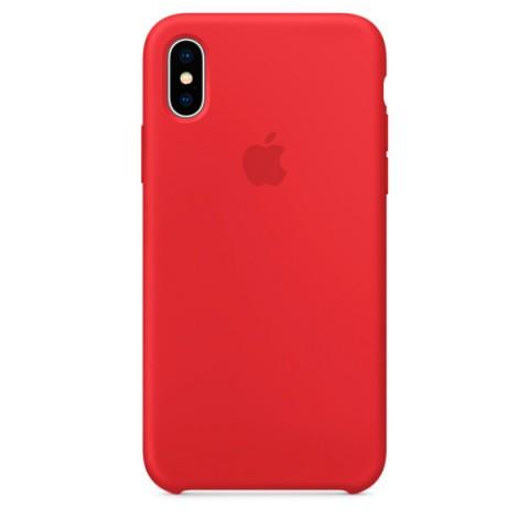 Фотография товара чехол для iPhone Apple iPhone X Silicone Case (PRODUCT)RED (MQT52ZM/A) (50051088)