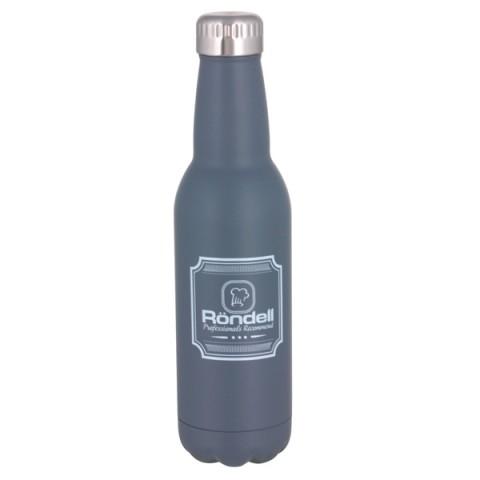 Купить термос Rondell Bottle Grey RDS-841 0,75л (50051160) в Москве, в Спб и в России