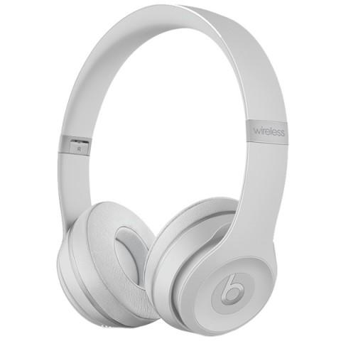 Фотография товара наушники Bluetooth Beats Solo3 Wireless Matte Silver (MR3T2ZE/A) (50051192)