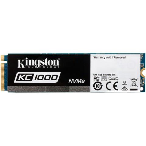 Фотография товара внутренний SSD накопитель Kingston 480GB Kingston KC1000 (SKC1000/480G) (50051238)