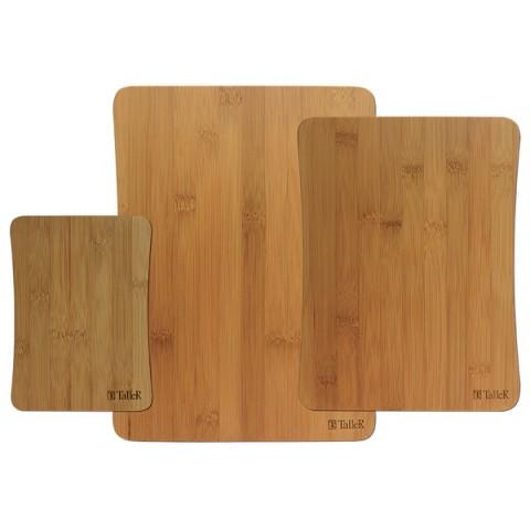 Фотография товара набор кухонных принадлежностей TalleR Доски разделочные TalleR TR-2216 3шт. (50051256)