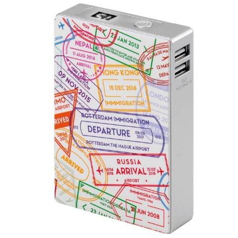 Купить внешний аккумулятор InterStep Travel 2USB/2A+1A Display 10400 mAh White (50051261) в Москве, в Спб и в России
