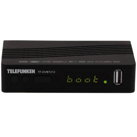 Фотография товара приемник телевизионный DVB-T2 Telefunken TF-DVBT212 (50051268)