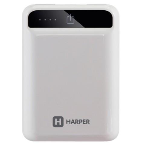 Фотография товара внешний аккумулятор Harper PB-10005 White 10000 mAh (50051347)