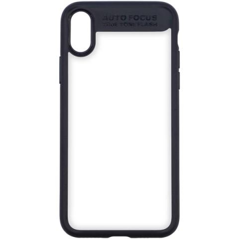 Купить чехол для iPhone InterStep iPhone X PURE-CASE ADV черный (50051350) в Москве, в Спб и в России