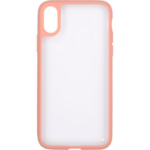 Купить чехол для iPhone InterStep iPhone X PURE-CASE ADV розовый (50051354) в Москве, в Спб и в России