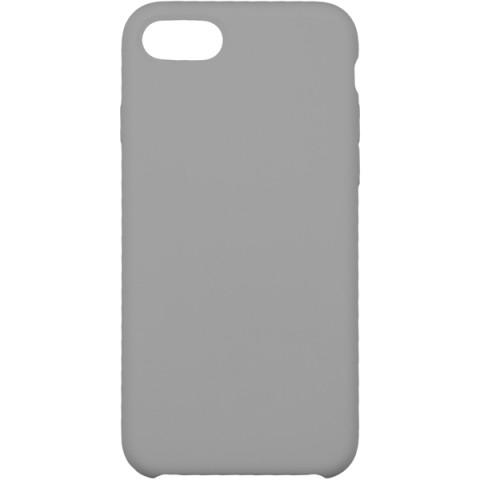 Купить чехол для iPhone InterStep для iPhone 8 IS SOFT-T METAL ADV серый (50051513) в Москве, в Спб и в России