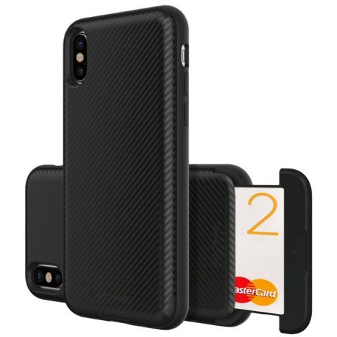 Фотография товара чехол для iPhone Matchnine Cardla Slot Black Carbon для iPhone X (ENV024) (50051570)