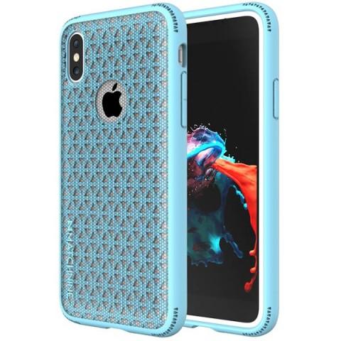 Фотография товара чехол для iPhone Matchnine Skel Light Blue для iPhone X (ENV026) (50051572)
